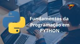 curso fundamentos python miniatura treinar
